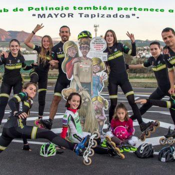La familia de patinadores de mayor